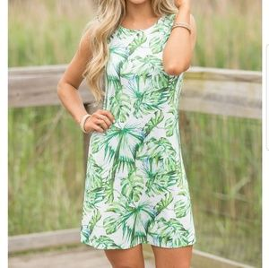 "NWT pink lily boutique ""jungle fever"" dress"